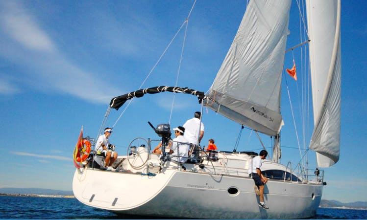 Sailing Charter On 52' Elan Cruising Monohull In València, Spain