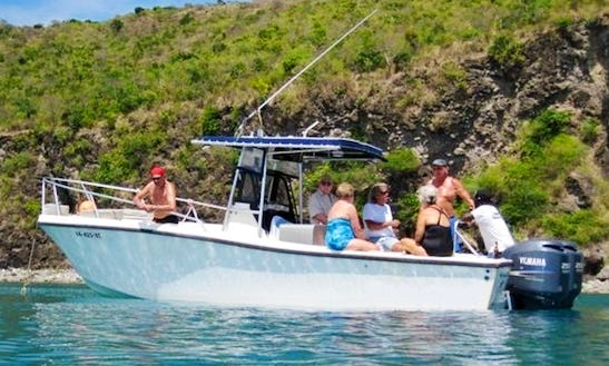 26' Center Console Boat In St. Kitts And Nevis