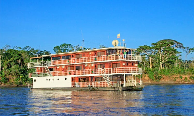 Manatee Amazon River Cruises in Ecuador's Amazon Basin