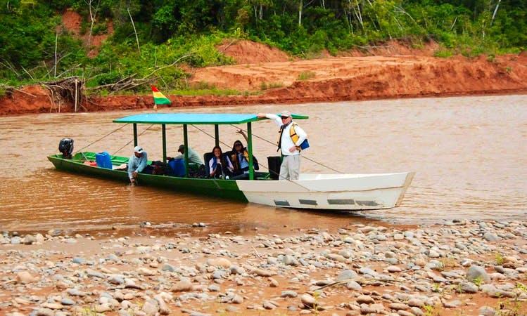 Jungle Boat Tour In Rurrenabaque