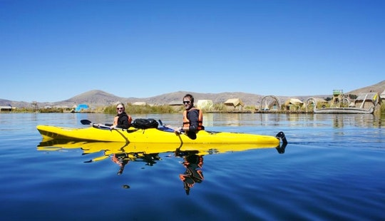 Kayak Tours In The Lake Titicaca, Peru