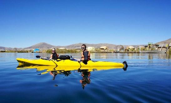 Kayak Tours In The Lake Titicaca, Peru