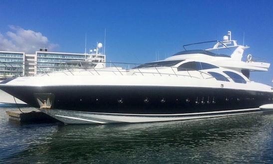Charter 98' Azimut Power Mega Yacht In Baja California Sur, Mexico