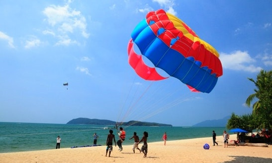 Parasailing For Adventure-minded People In Langkawi, Malaysia