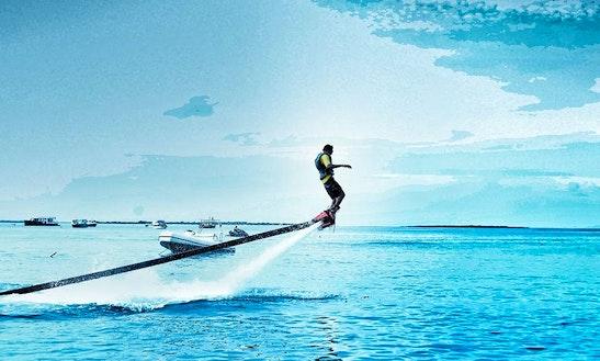 Enjoy Flyboarding In Male, Maldives