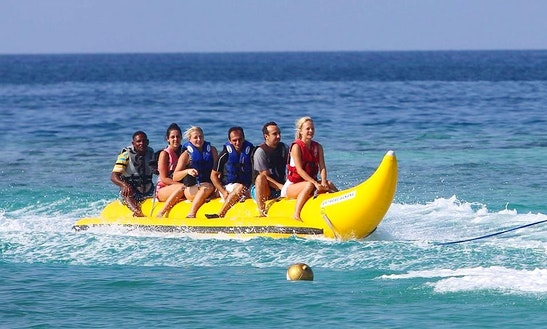 Enjoy Banana Boat Rides In Male, Maldives