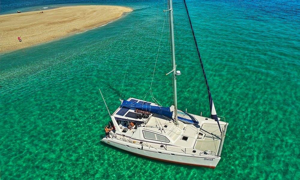 45ft Cruising Catamaran in Zanzibar