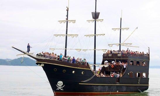 Adventure Pirate Boat Tour In Brazil