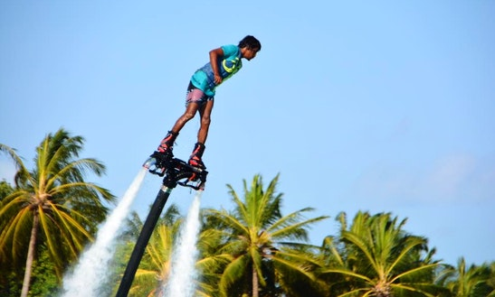 Enjoy Flyboarding In Malé, Maldives