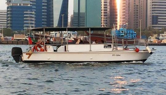Enjoy Fishing In Dubai, United Arab Emirates On Center Console