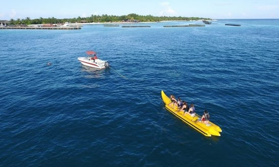 Enjoy The Adventurous Fun Tubes And Banana Rides In Male, Maldives
