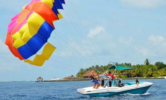 Experience The Thrill Of Parasailing In Malé, Maldives