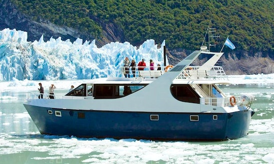 Charter 66' Leal Power Mega Yacht In Santa Cruz, Argentina