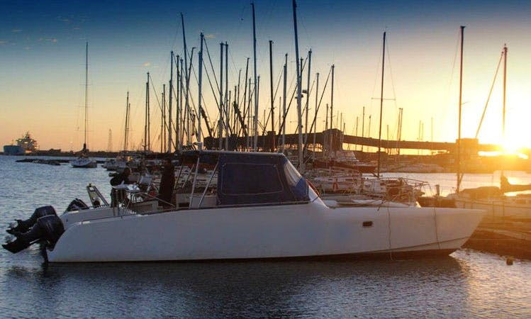 Enjoy Cruising in Port Elizabeth, South Africa on 38' Power Catamaran