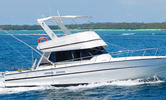 Enjoy Fishing In Trou D'eau Douce, Mauritius On 46' Royal Ii Sport Fisherman