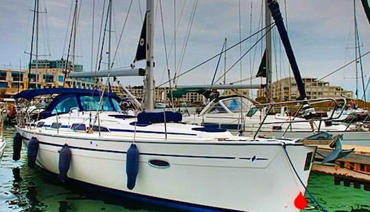 Romantic Sailing On