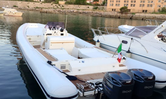 Rent 36' Magazzu Rigid Inflatable Boat In Palermo, Italy
