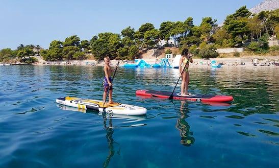 Enjoy Stand Up Paddleboarding In Stanković, Croatia