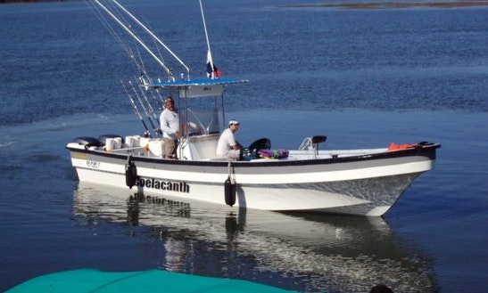 Enjoy Fishing On A Center Console Fishing Charter For 5 People In Boca Chica, Panama