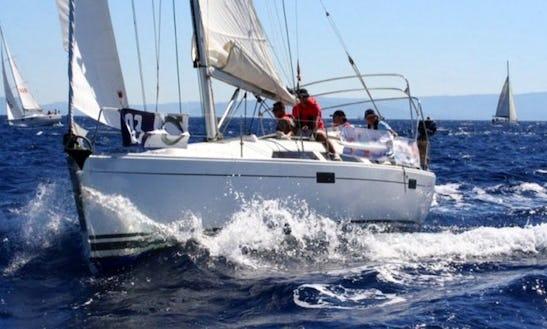 'themis' Hanse 350 Charter In Fethiye