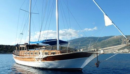 Private Crewed Boat Trips In Kas-turkey