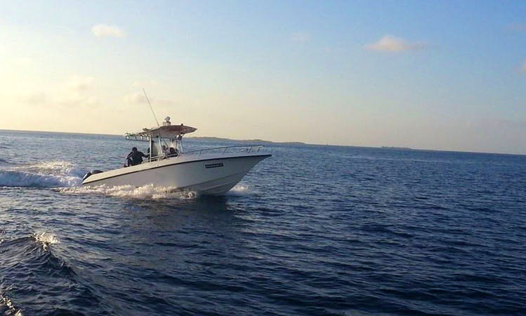 Encounter Memorable Fishing with 10 Person Fishing Boat in Male, Maldives on Center Console