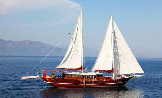 Gulet Yacht Vesta 1 Sevil Rental Turkey In Bodrum Marmaris Gocek Fethiye