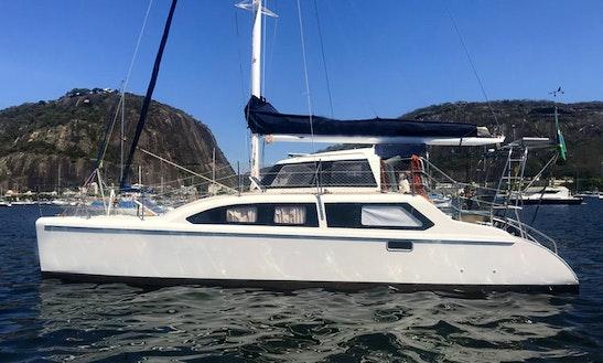 Seawind 1000 Cruising Catamaran Check-in In Angra Dos Reis Ou Rio De Janeiro Ou Paraty