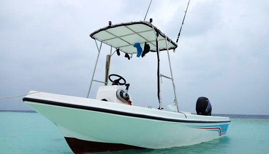 Enjoy Fishing In Malé, Maldives Onboard Center Console
