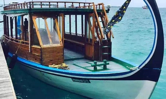 Enjoy Fishing On Cuddy Cabin For 4 Persons In Malé, Maldives