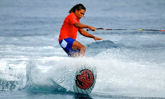 Experience The Thrill Of  Wakeboarding In Malé, Maldives