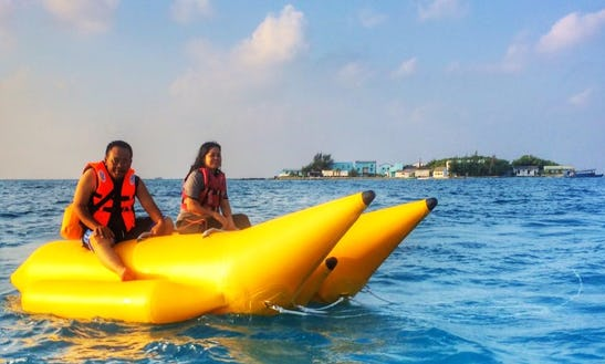 Enjoy Tubing In Malé, Maldives