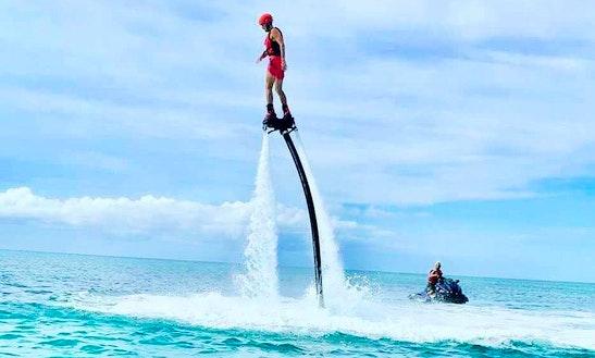 Enjoy Flyboarding In Port-louis, Guadeloupe