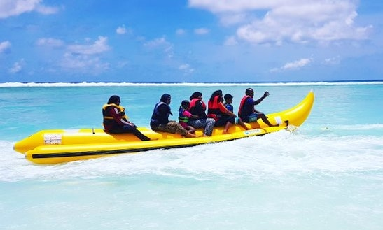 Enjoy Banana Rides And Fun Tube Rides In Malé, Maldives