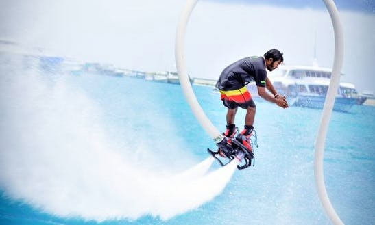 Enjoy The Thrill Of Flyboarding In Malé, Maldives