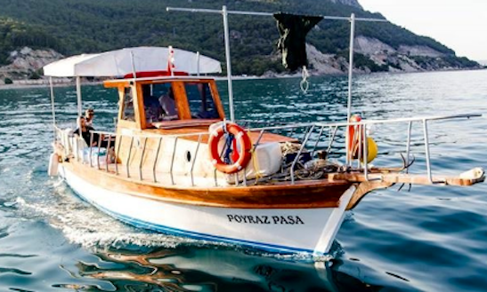 Enjoy Antalya Fish Hunt And Keyif Tours In Antalya, Turkey On 32' Motor Yacht