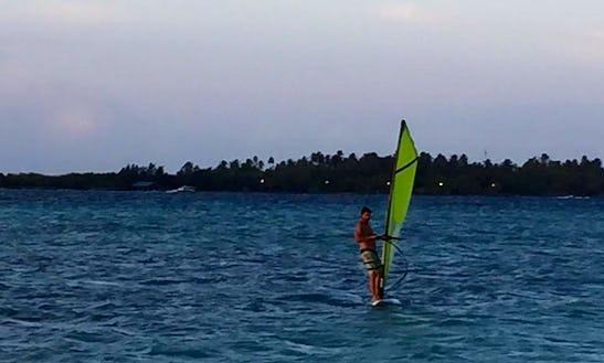Enjoy Windsurfing In Himmafushi, Maldives