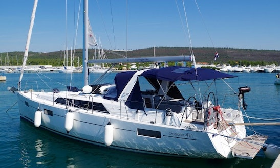Charter 41' 4play Cruising Monohull In Sukošan, Croatia