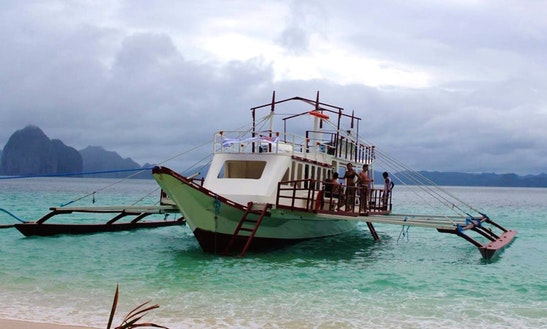 Largest Boat In El Nido!