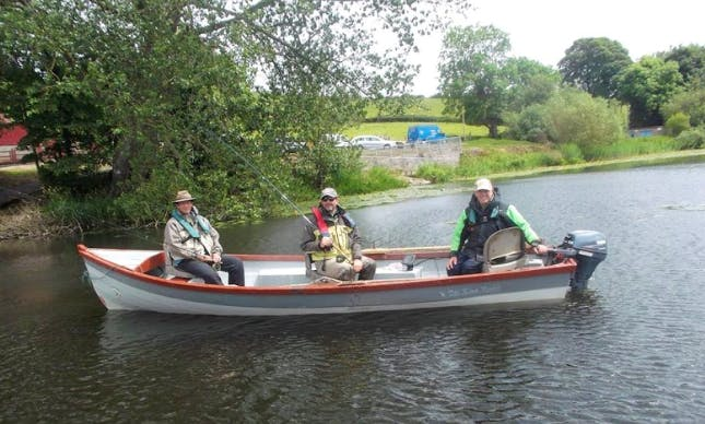 Book A Fishing Tour From County Monaghan, Ireland on Dinghy