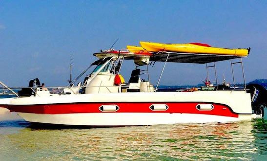 Power Catamaran Rental In Weligama
