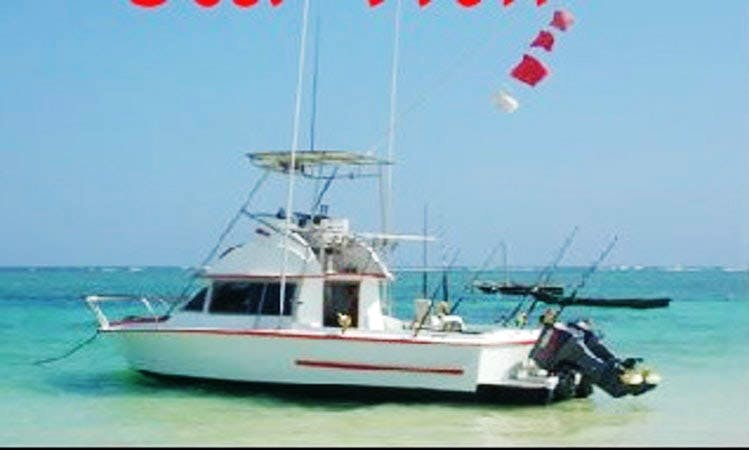 "Enjoy Fishing On 26ft ""Sea Wolf"" Coronet Sportfisher Yacht In Mombasa, Kenya"