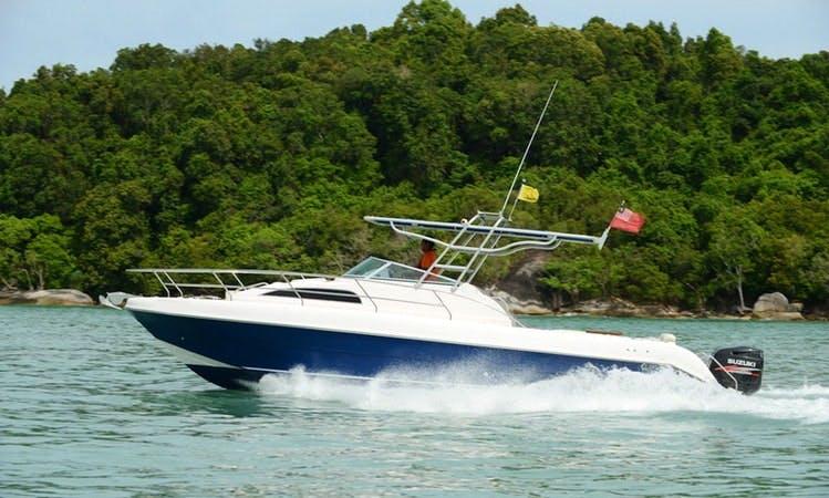 Motor Yacht Sea Hawk Activities in Jalan Persiaran Putra, Malaysia