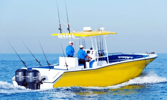 Center Console Fishing Charter In Dubai