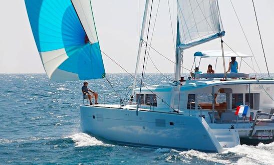 Charter 45' Cruising Catamaran In Phuket, Thailand