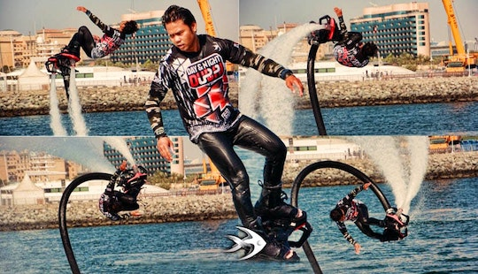 Hop On To A Flyboard, In Dubai, Uea