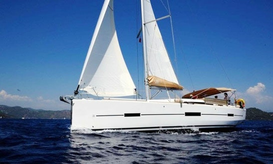 'hideaway' Dufour 410 Grand Large Charter In Fethiye