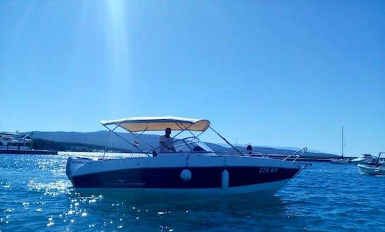 Rent 20' Admiral Cuddy Cabin In Krk, Croatia