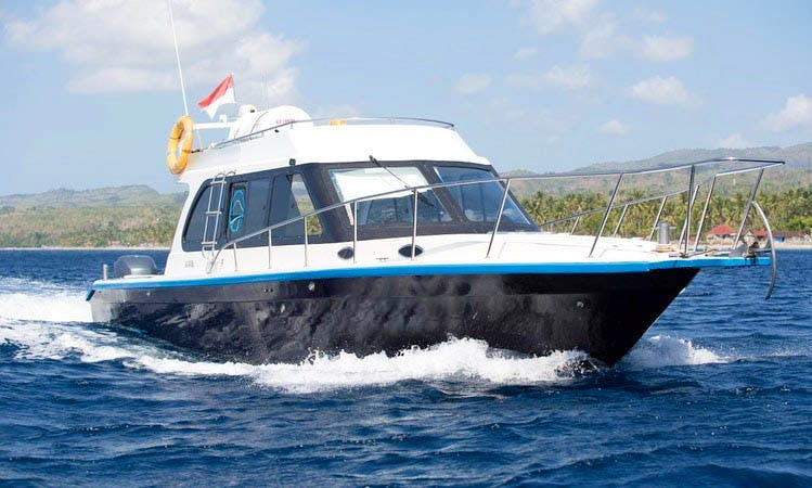 Captained Charter on 42' ''Rhino 1'' Motor Yacht in Denpasar Bali, Indonesia
