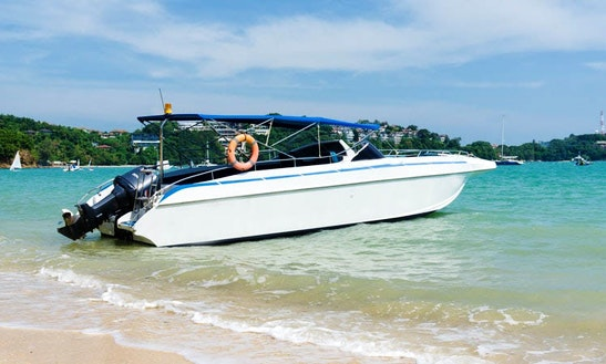 Private Speedboat Charter Phuket - Phang Nga Bay - Single Engine - Full Day